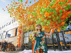 Фото с открытия строительного гипермаркета «Материк». Фотограф: Александр Мойсевич.