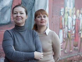 Наталья Журавлева и Ольга Потапова, фото из личного архива