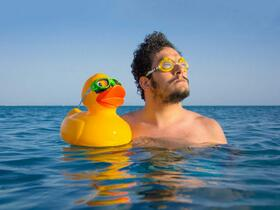 Автопортрет египетского фотографа Ahmad El-Abi, фото из личного профиля в Instagram