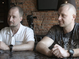 Кирилл Голуб и Валерий Остринский. Фото: probusiness.io