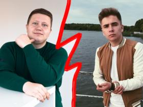 Евгений Бычковский и Владислав Коношенко