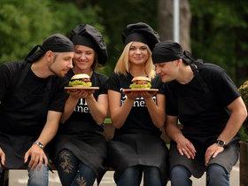 Александр Данильченко, Катерина Кубрак, Катерина и Артем Колыско. Фото предоставлено автором