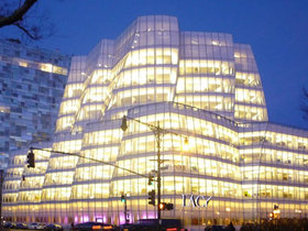 Офис IAC в Нью-Йорке. Фото с сайта studioacktblogspot.com