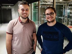 Евгений Карпов и Дмитрий Микитич. Фото из личного архива