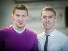 Алексей Купреев и Сергей Сердюков. Фото из личного архива
