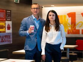 Сергей Дутин и Виктория Райко. Фото: Дария Гращенкова