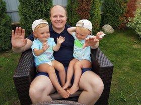 Дмитрий Меншиков с детьми. Фото из личного архива