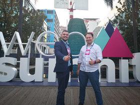 Виталий Ермаков и Сергей Валуй, компания Smartym Pro. Фото из личного архива