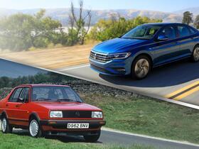 ФОТО: 7 поколений и 3 названия. История «взросления» одной из самых знаменитых моделей Volkswagen — Jetta