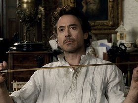 Сцена из фильма Шерлок Холмс/Sherlock Holmes, 2009