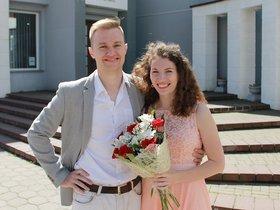 Богдан и Полина Грицовец. Фото из семейного архива