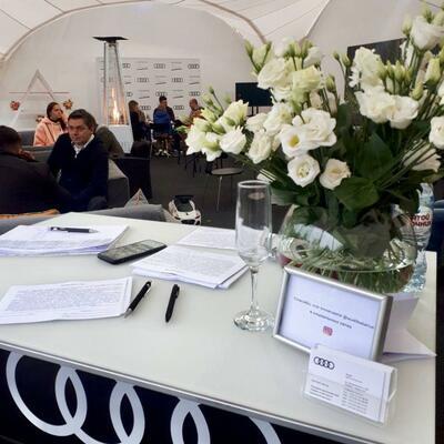 Закрытое мероприятие для членов Клуба Probusiness в гольф-клубе Минск совместно с Audi - 11 октября