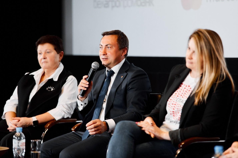 Выступление директора компании Mastercard в Беларуси Вадима Головчица