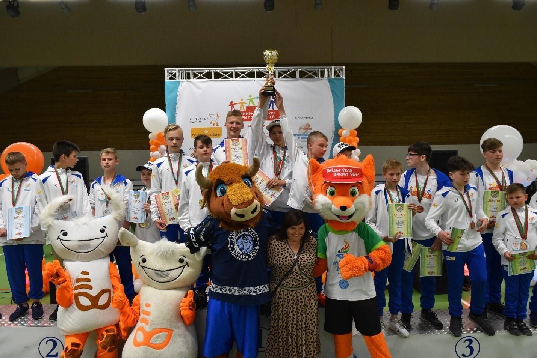 Награждение призеров II Национального этапа Игр Победителей в Беларуси, май 2019 года