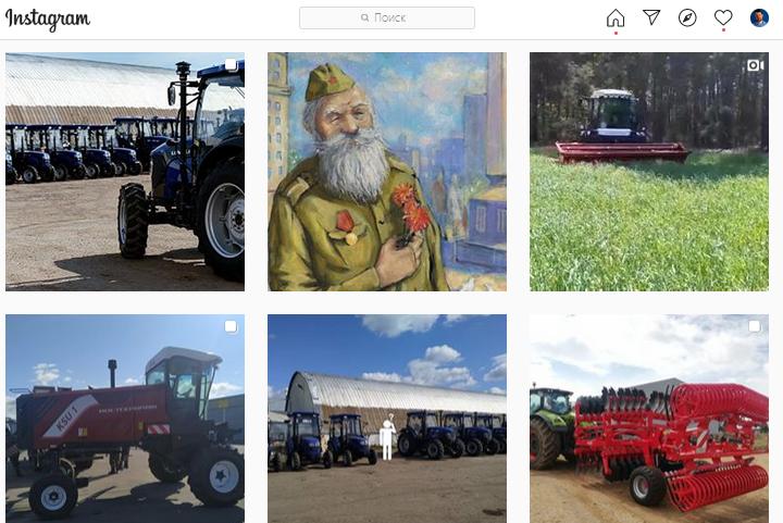 "Screenshot аккаунта ""Технодвор"" в Instagram"