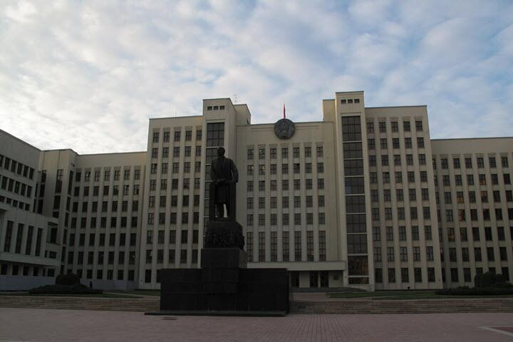 Дом Правительства Беларуси. Фото: https://yandex.by/collections
