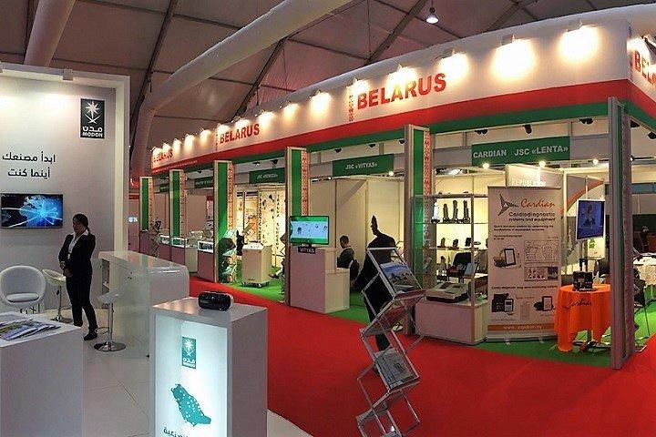 Стенд белорусской компании на выставке в Дубае, ОАЭ. Фото предоставлено автором