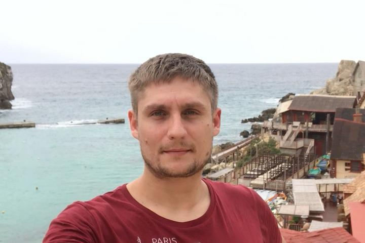 Алексей Рудак. Фото из личного архива