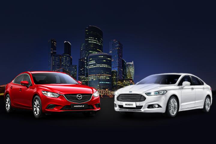 ФОТО: Новый формат тест-драйвов Ford и Mazda для деловых людей