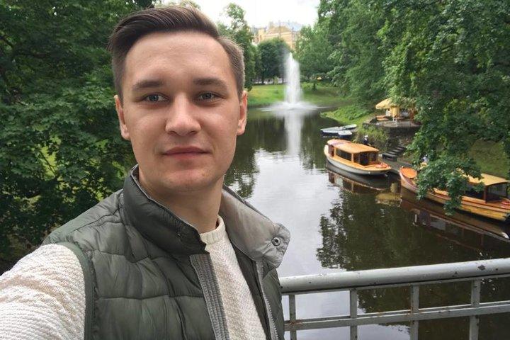 Егор Карпович. Фото со страницы Егора Карповича в Facebook