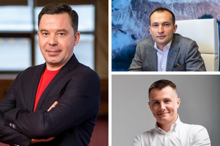 Сергей Капустин, Алексей Малайчук, Вячеслав Якубик