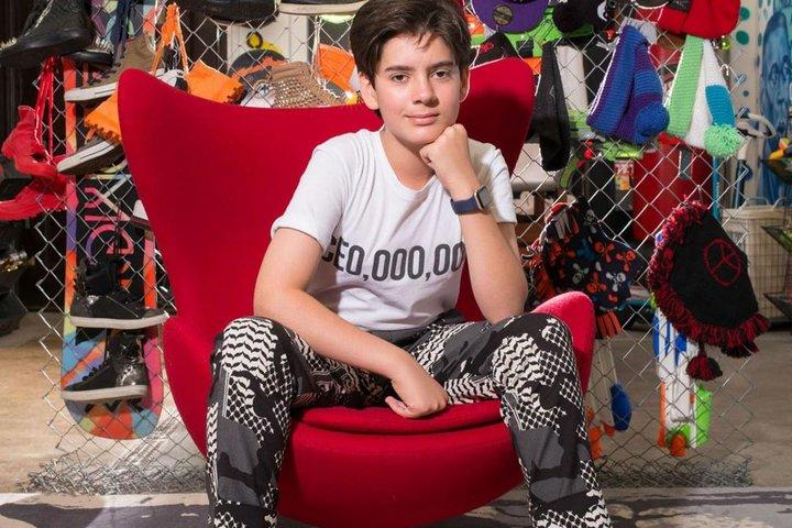 ФОТО: «Я крутой ребенок»: этому мальчику 12, но у него уже есть свой бизнес