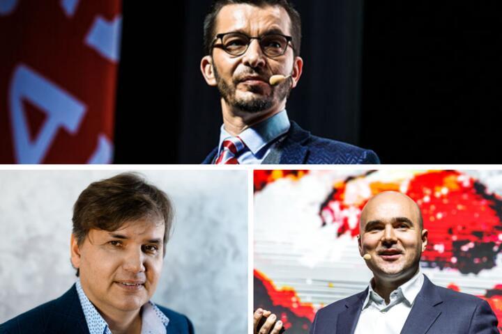 Виктор Прокопеня, Андрей Курпатов, Александр Паньков. Фото: probusiness.io