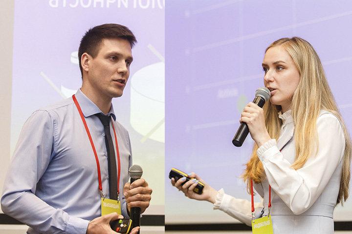 Михаил Глушаков и Яна Зайцева. Фото: Надежда Бужан, probusiness.io