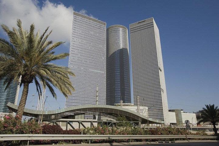 Центр Азриэли. Комплекс небоскребов в центре Тель-Авива. Фото: Википедия