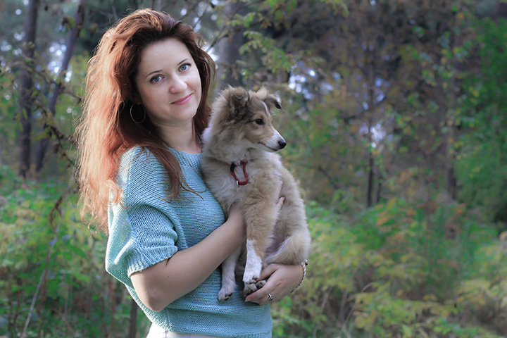 Оксана Калаганова. Фото из личного архива