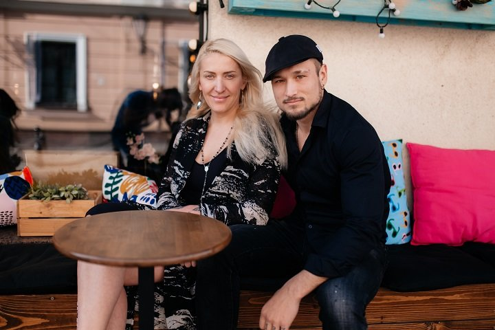 Ольга и Ким Мазур. Фото: