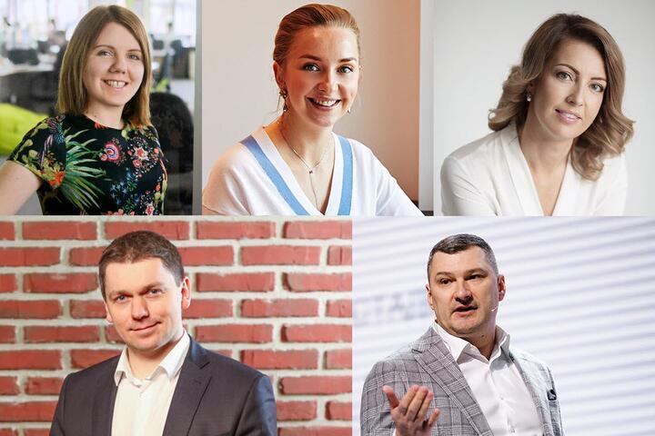 Ксения Иванова, Галина Корсак, Анна Заборонок, Виталий Волянюк, Евгений Вяткин