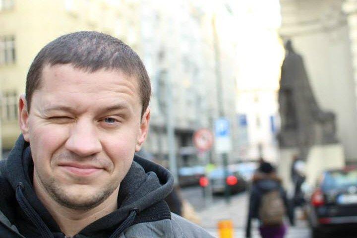 Игорь Колесень. Фото со страницы Игоря в Facebook