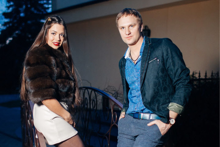 Константин и Ксения Халепо. Фото из личного архива