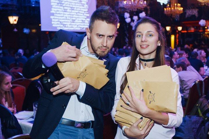 Александр Ханин и Екатерина Максимова. Фото из сообщества МозгоБойня во ВКонтакте