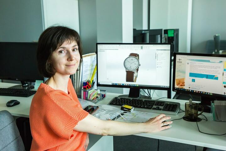 Инженер-конструктор Юлия, работает назаводе «Луч» 10 лет. Фото: Марина Сикорская, probusiness.io