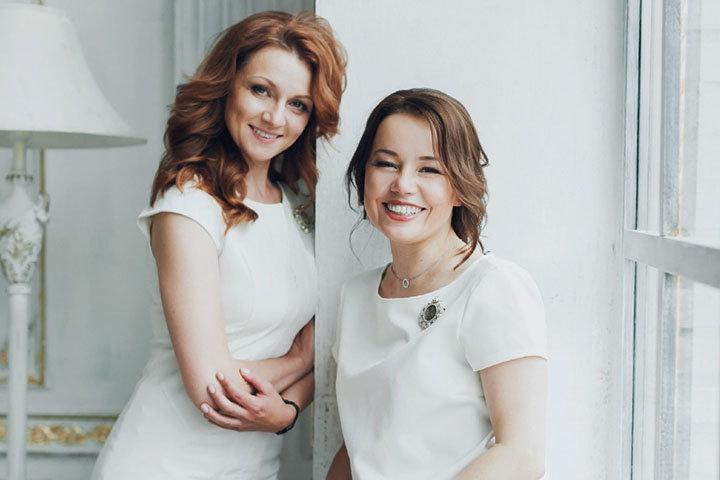 Кира Кононович (справа) и Евгения Романова (слева). Фото предоставлено автором)