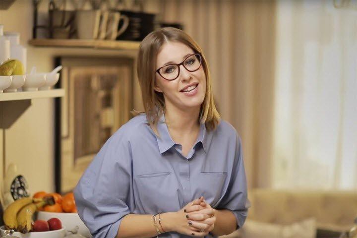 Ксения Собчак. Скриншот из видеообращения на YouTube