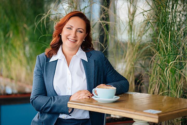 Светлана Чирва. Фото предоставлено компанией VISA