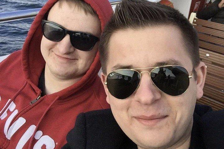 Виталий Михайловский (слева) и Евгений Бессчастнов. Фото из личного архива Евгения