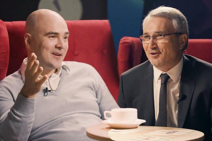 ФОТО: Бизнес-Хватка: Прокопеня vs Хусаенов. Смотрите «баттл» двух звезд