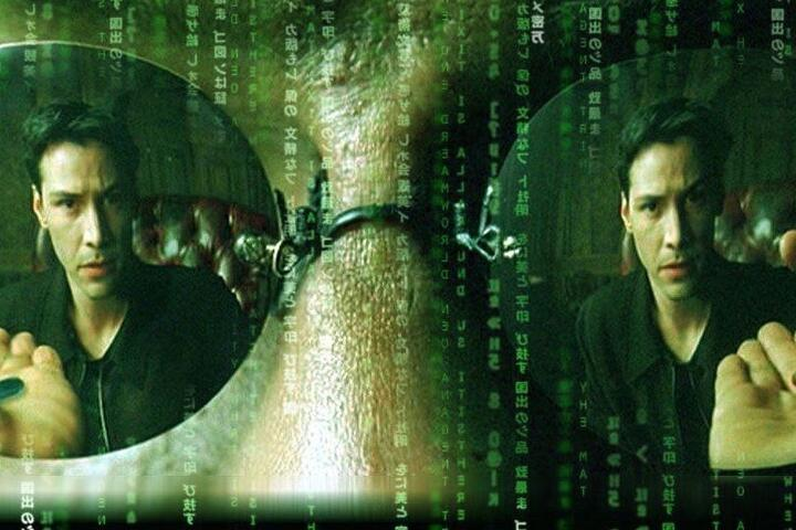 "Кадр из фильма ""Матрица"", США, 1999"