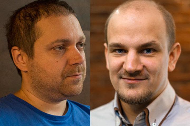 Юрий Мельничек и Александр Чекан