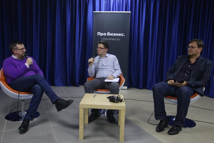 Встреча Про бизнес. Александр Паньков – Павел Данейко (видео)