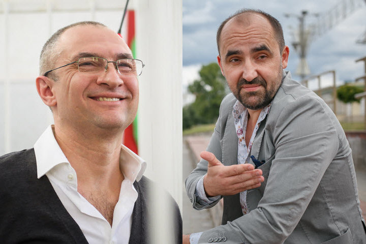 Александр Муравьев (слева), Александр Кнырович, фото TUT.BY