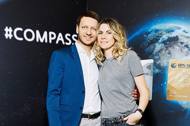 Андрей Городник и Ольга Василюк. Фото из личного архива