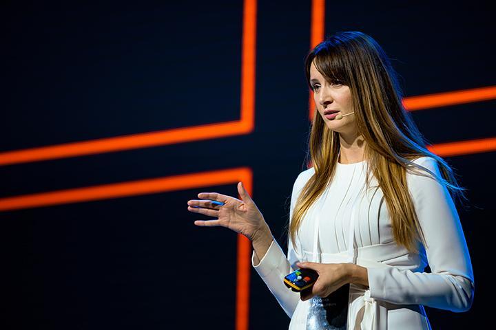 Выступление Оксаны Рапацевич на втором гала-сезоне «Бери и делай!»