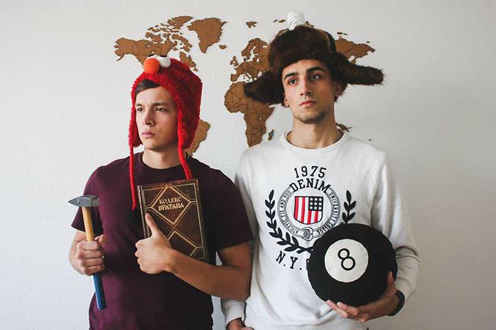 Ян Сташкевич (слева) и Влад Климовец (справа). Фото предоставлено автором
