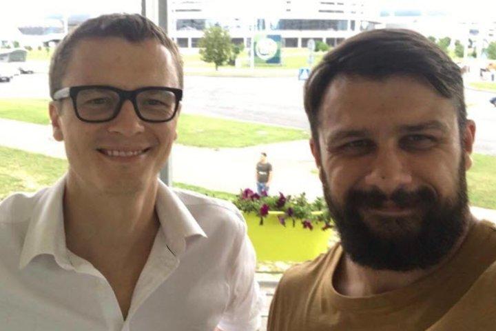 Антон Дмитриев и Тимофей Липский. Фотосо страницы Тимофея в Facebook