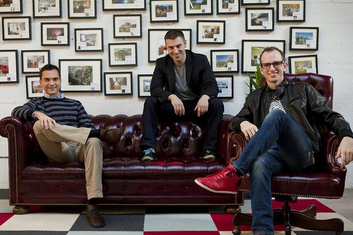 Основатели Airbnb. Фото с сайта posta-magazine.ru